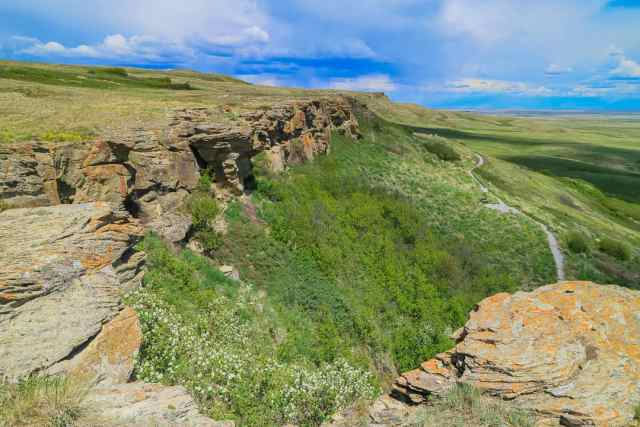 Canada 150 Southern Alberta Head-Smashed-In Buffalo Jump