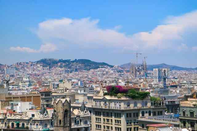 La Sagrada Família, Barcelona, Spain