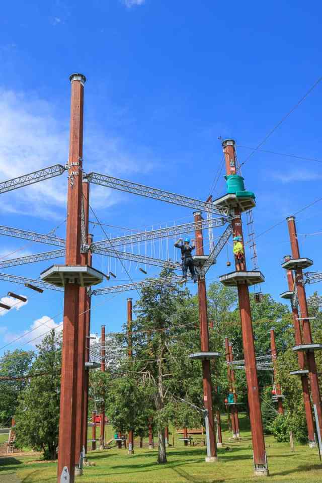 Top Niagara Falls Activities WildPlay Whirlpool Adventure Course