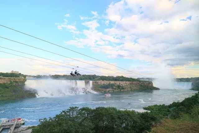 Top Niagara Falls Activities Zipline Adventure