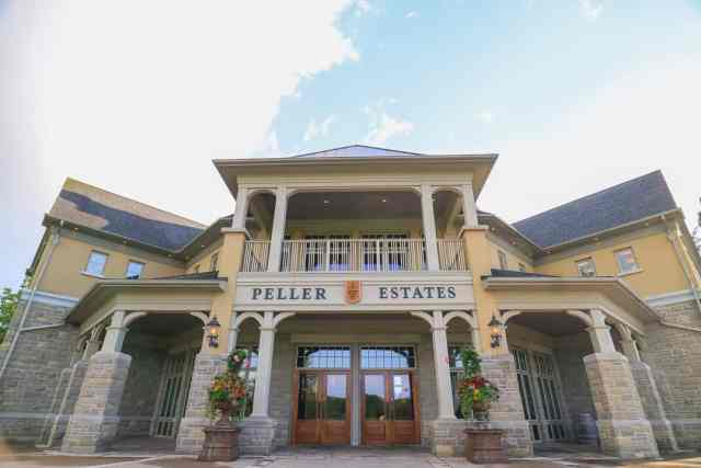 Peller Estates Best Winery Niagara on the Lake Ontario Canada