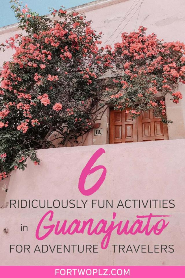 Guanajuato is a beautiful destination in Central Mexico. The spanish colonial town has earned UNESCO World Heritage City status in 1988. Visiting Guanajuato for the first time? Then, check out this Guanajuato travel guide specifically prepared for adventure travelers. We've selected ultra fun things to do in Guanajuato to make your trip extra memorable. #mexicotravel #thingstodoinmexico