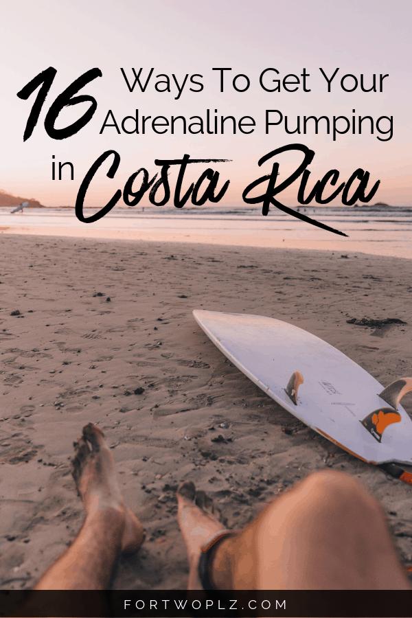 Costa Rica Must Do Adventure Activities