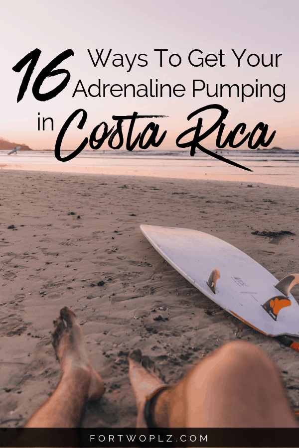 Costa Rica Must Do Adventure Activities