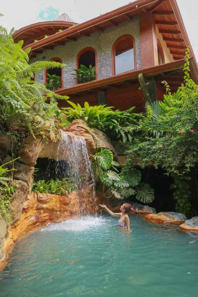 The Springs Arenal Costa Rica Honeymoon Romantic Hotel