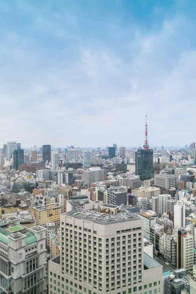 Park Hotel Tokyo Luxury best places to stay in Tokyo