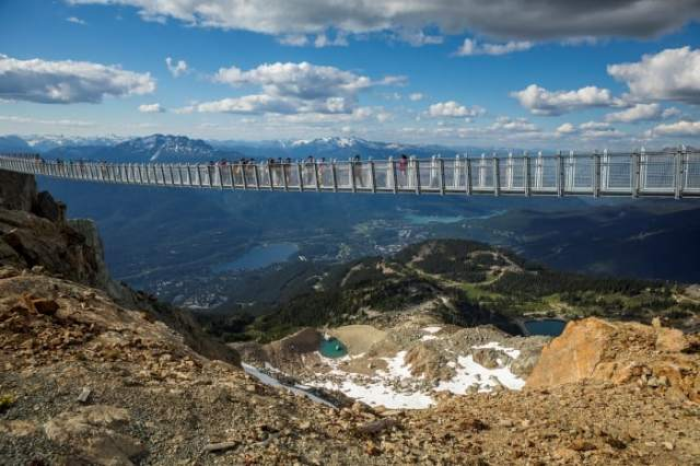 Whistler Suspension Bridge Cloudraker Skybridge
