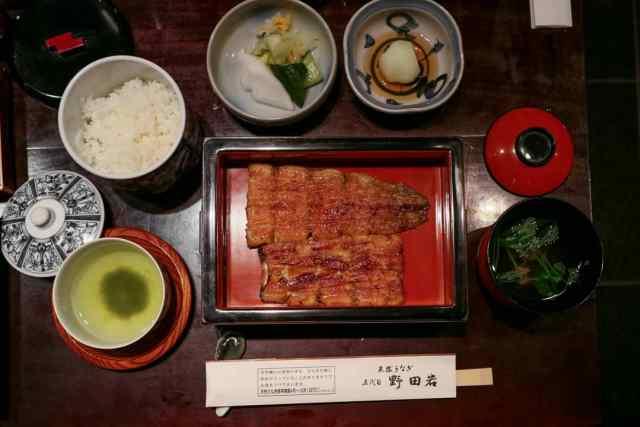 Nodaiwa Tokyo michelin star restaurant