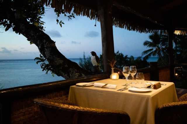 Pacific Resort Aitutaki Restaurant