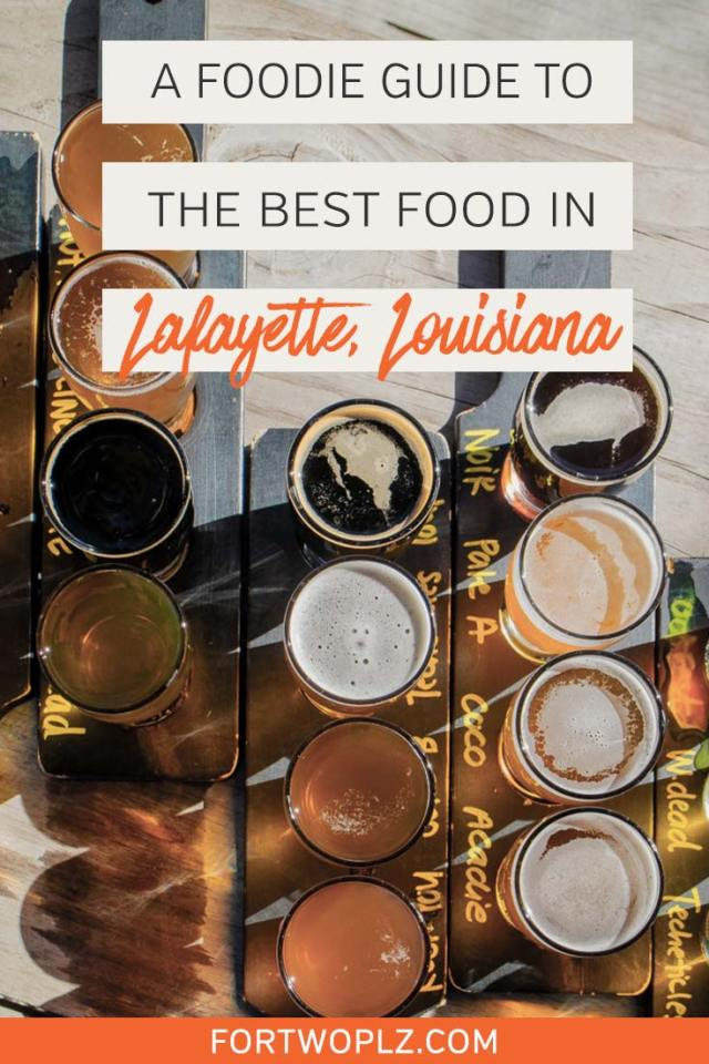 Lafayette, Louisiana, the heart of Cajun country, presents one-of-a-kind foodie experience for food lovers. It is where to try cajun dishes like crawfish etouffee, boudin, gumbo and jambalaya. Besides Creole and Cajun food, Lafayette also has many unique food spots to try! Click through to discover where to eat and drink in Lafayette and the must-eat foods in Louisiana. #explorelouisiana #foodietravel #usaroadtrip