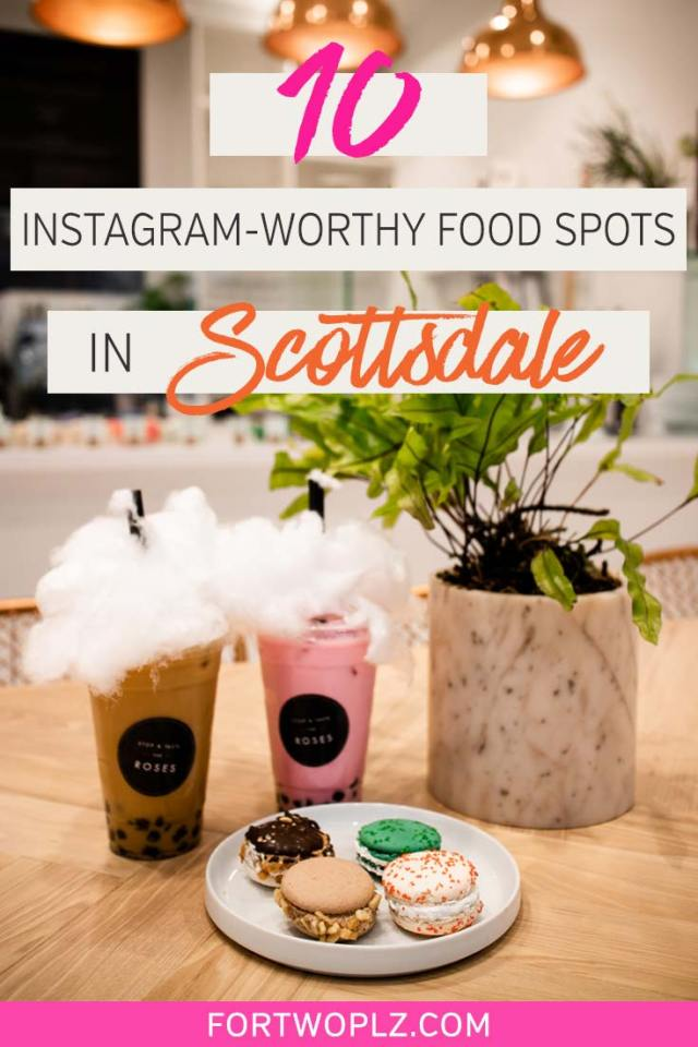 Looking for the most instagram worthy food spots in Scottsdale, Arizona? There are numerous cafes and restaurants offering creative food, desserts and beverage that are totally photo-worthy. In this post, we have rounded up the most Instagrammed restaurants in Scottsdale. Click through to discover where to eat and drink in Scottsdale.  #explorearizona #scottsdale #travel #foodietravel