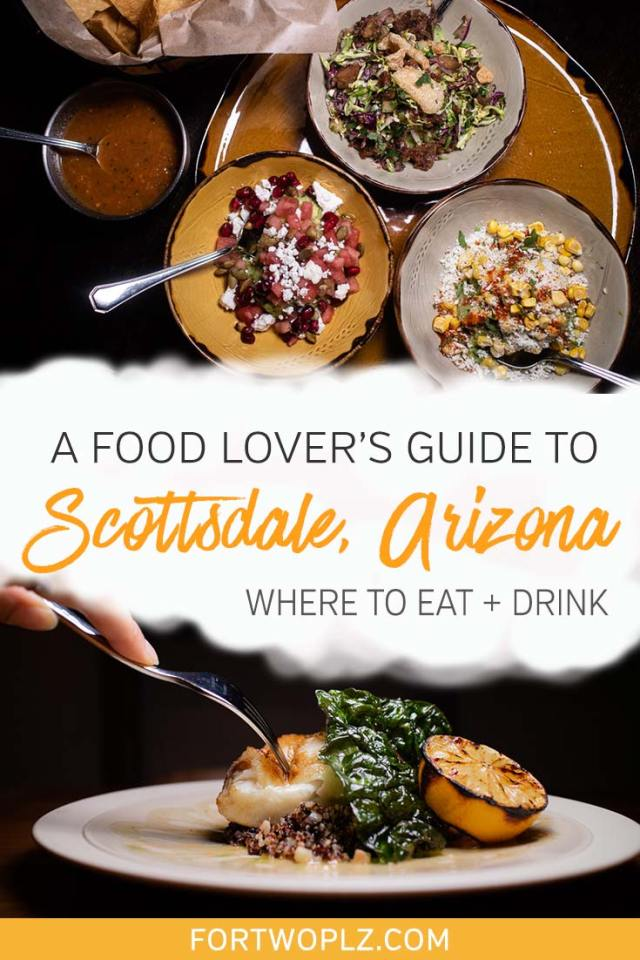 Scottsdale, Arizona is an up-and-coming foodie destination. Where should you start? We've got you covered! This foodie guide highlights our top recommendations for the bestrestaurantsinScottsdale. Click through to discover the best places to eat in Scottsdale. #explorearizona#scottsdale #travel #foodietravel
