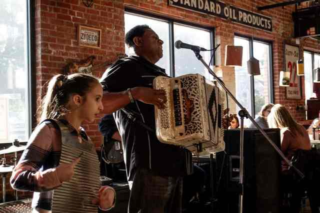 Zydeco Breakfast Buck & Johnny's Lafayette Louisiana