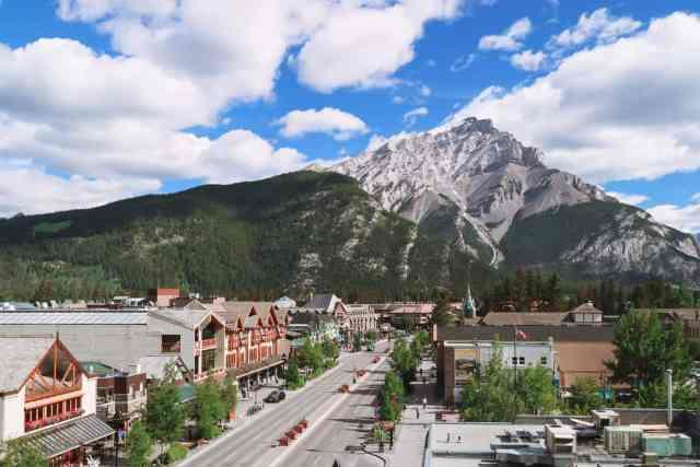Banff Town Canada