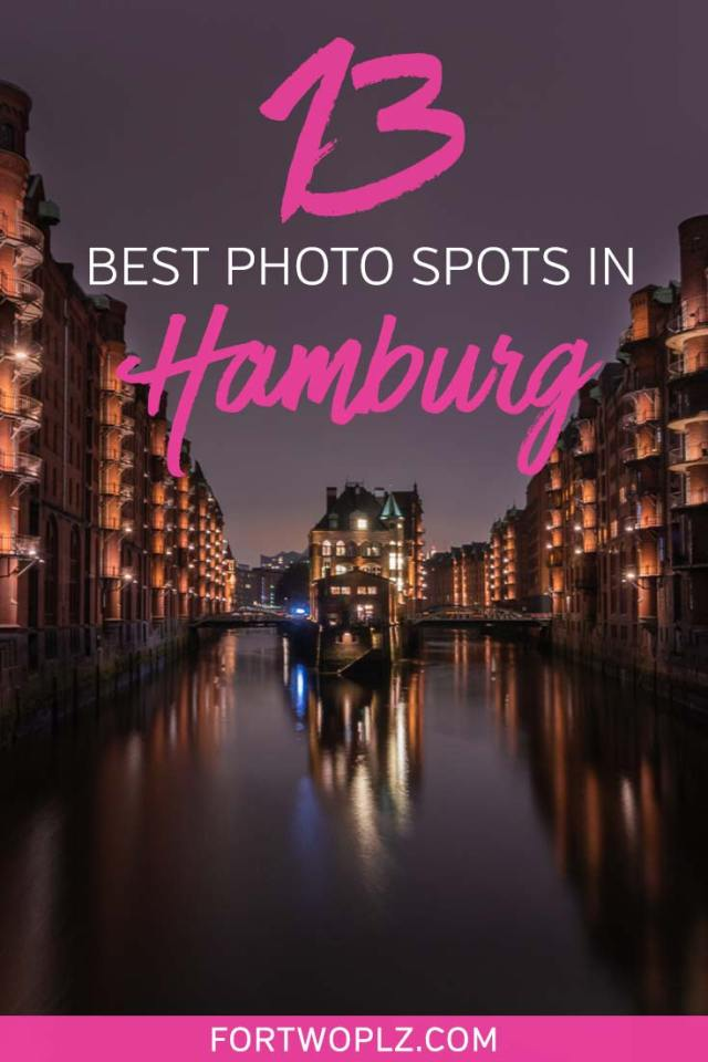 Scouting the best Hamburg photography locations? Here are 13 best photo locations in Hamburg, Germany for capturing the city's most beautiful and iconic views, from the Elbphilharmonie, Speicherstadt, Rathaus to Deichstraße - plus insider tips on things to do in Hamburg. Click to read more! #hamburg #germanytravel #europe