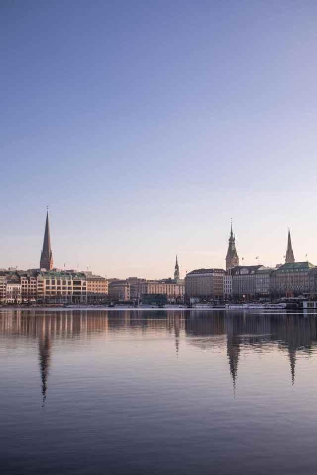 Hamburg City Jungfernstieg