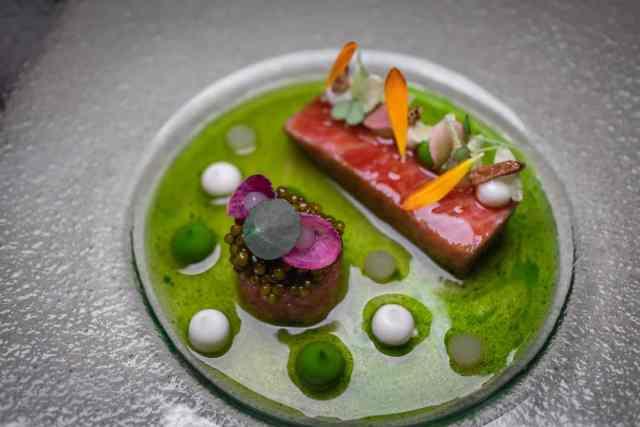 Haerlin Fairmont Michelin stars restaurant Hamburg