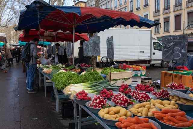 Lyon Marché Saint-Antoine France