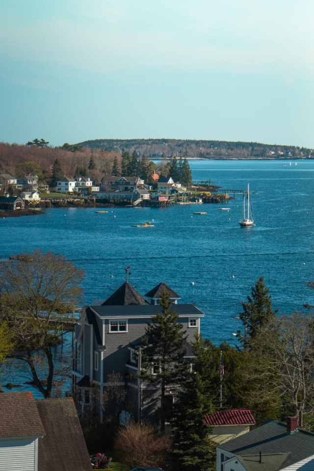 Boothbay Harbor Coastal Maine Town