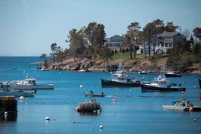 Coastal Maine Towns from Portland Maine to Bar Harbor
