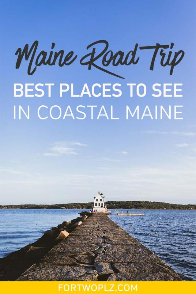 Going on a Maine road trip? Between Portland Maine and Bar Harbor, there are so many beautiful coastal towns worth exploring. This Maine road trip guide highlights all the beautiful spots along route 1 you should not miss. #roadtrip #newengland #usatravel #summertravel