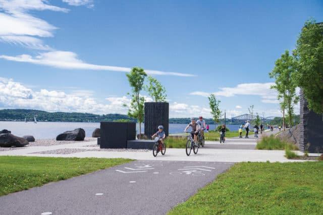 Promenade Samuel de Champlain Quebec City