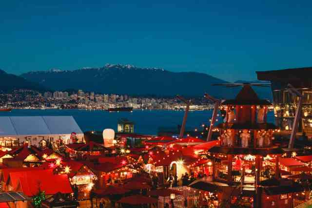 Christmas Market Vancouver