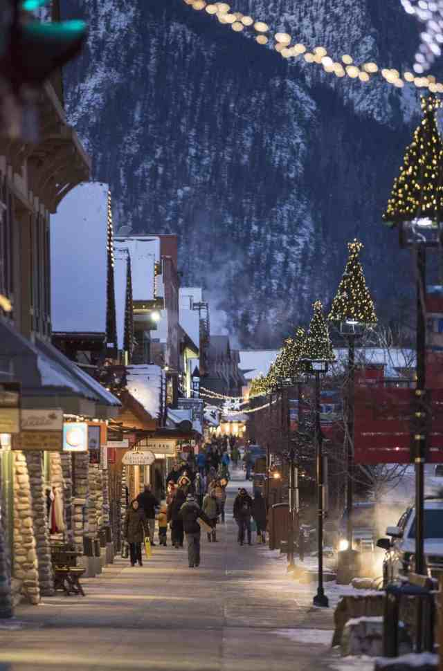 Christmas at Banff