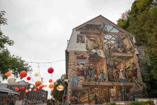 Quebec City Quartier Petit Champlain