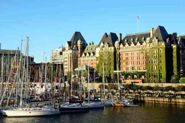 Fairmont Empress Hotel Victoria BC