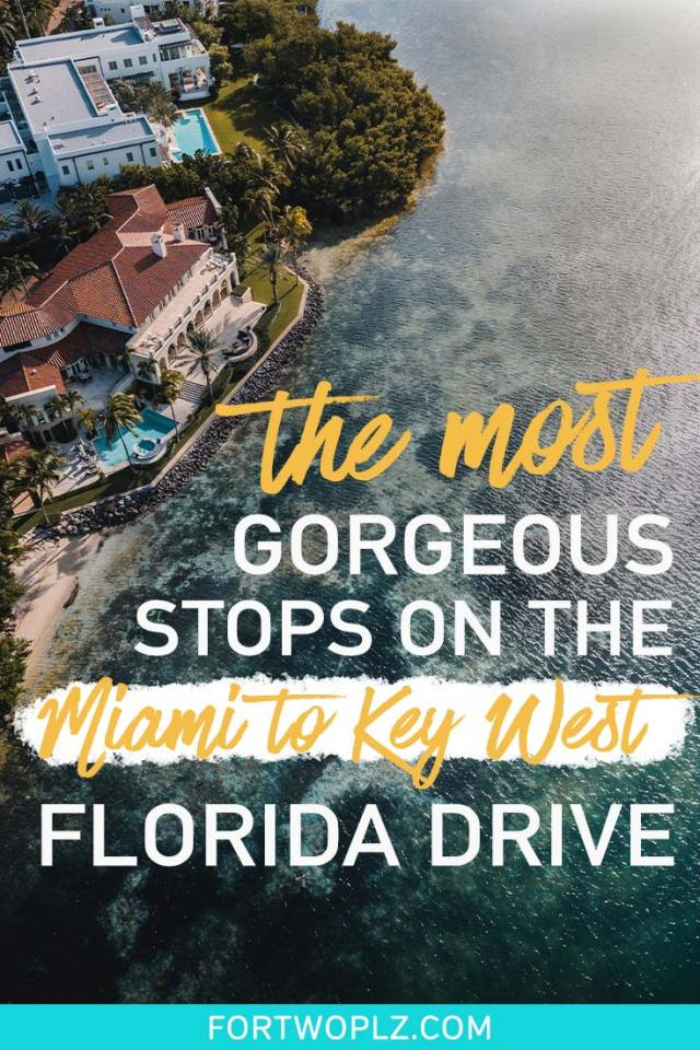 Best stops on miami key west florida drive