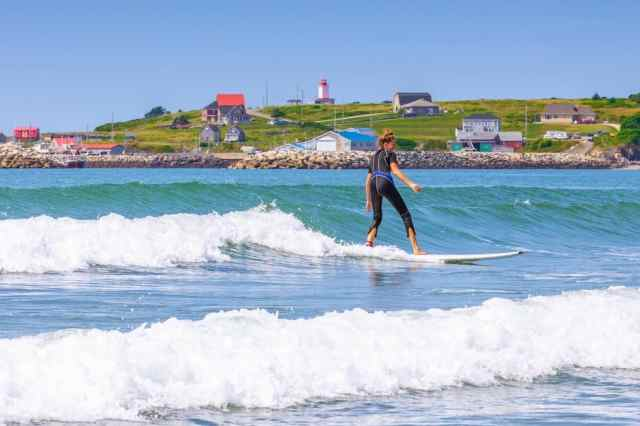 Mavillette Beach Provincial Park Nova Scotia Acadian Shore