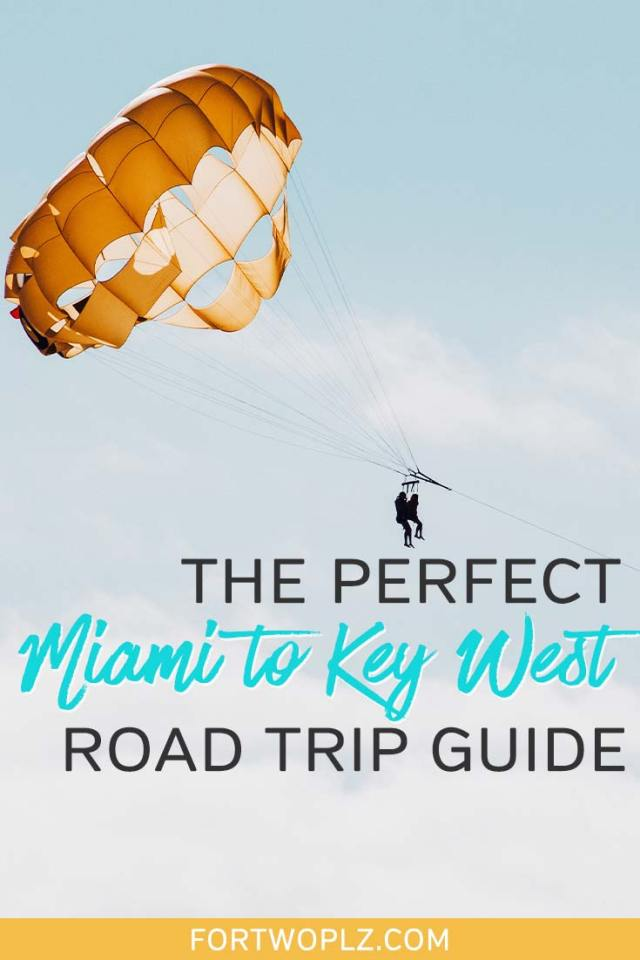 Miami to Key West road trip guide