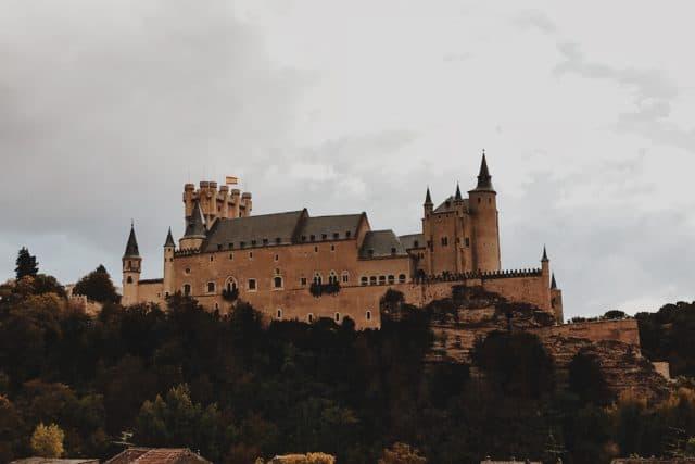 Alcázar of Segovia Spain