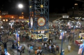 An image of Festival Plaza during the Red River Revel