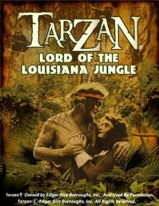 """Movie poster for """"Tarzan Lord of the Louisiana Jungle"""""""