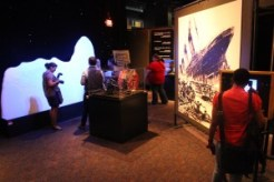 """Another view of the """"Titanic"""" exhibit at Sci-Port: Louisiana's Science Center"""