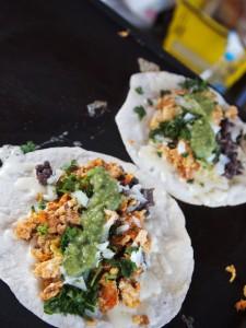Ki Mexico's breakfast tacos from the Shreveport Farmers' Market