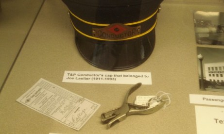 Conductor Hat and ticket puncher