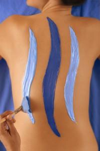 Shades of Blu body treatment at spa blu