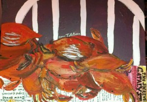 An image of a painting by Karen La Beau