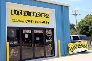 A photo of Rick's Records