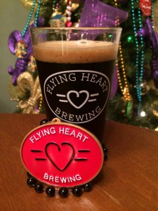 A photo of Flying Heart Brewing's specialty bead