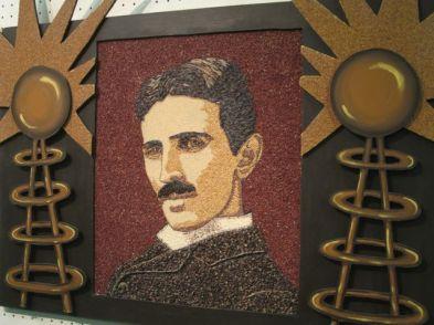 Nicola Tesla. Photo by Tricia