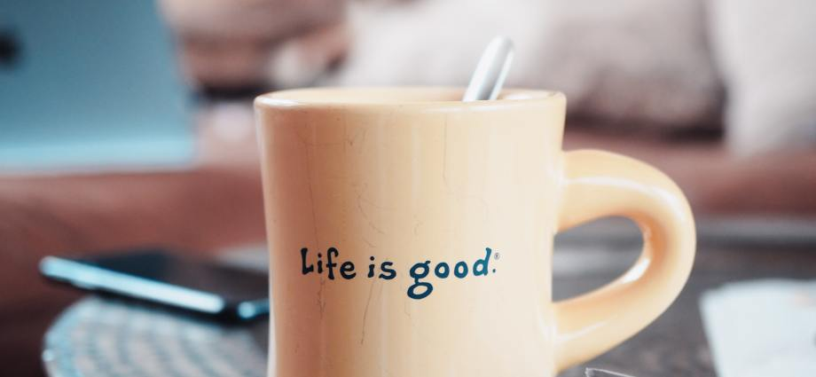 The good life and a good cup of coffee