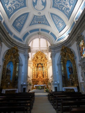Interior, Our Lady of Remedies Church. Photo by T.