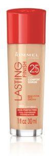 Rimmel London Lasting Finish 25 Hour Foundation with Comfort Serum