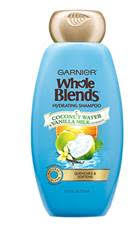 Garnier Whole Blends Hydrating Shampoo with Coconut Water & Vanilla Milk Extracts
