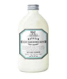 Body Wash Bubble Bath in Sea Lily Jasmine