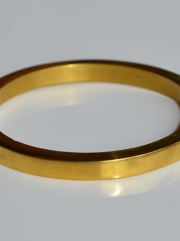 24K heavy bangle